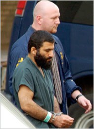 Tim Roske/Associated Press Yassin M. Aref, front, being led from court in 2004.